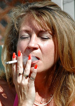 Smoking Mature Photos