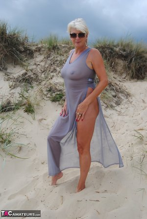 Mature on the Beach Photos