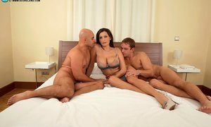 Mature Threesome Photos